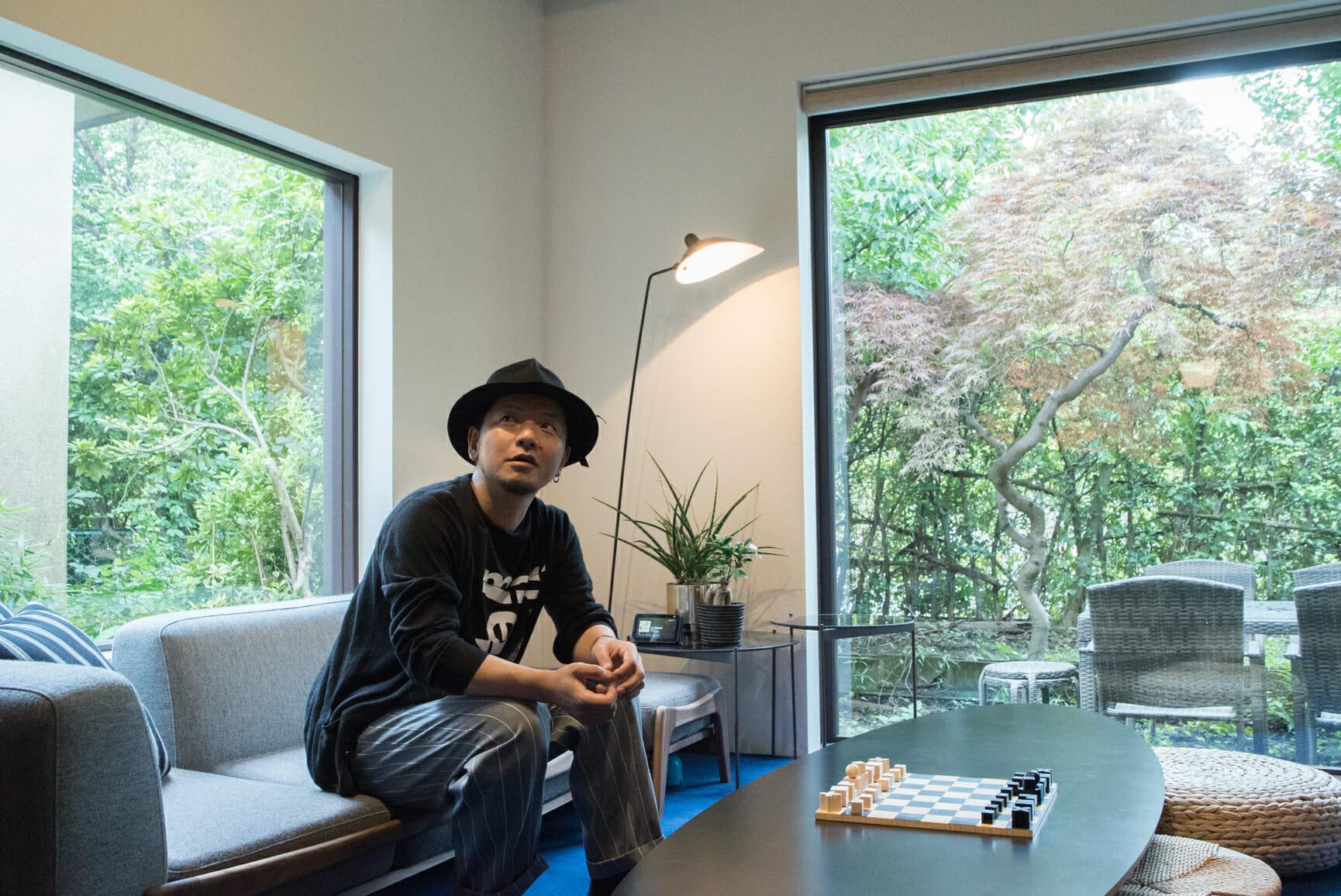 窪川勝哉さんのLife Place、訪ねました